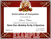tscc - Certificate of Completion
