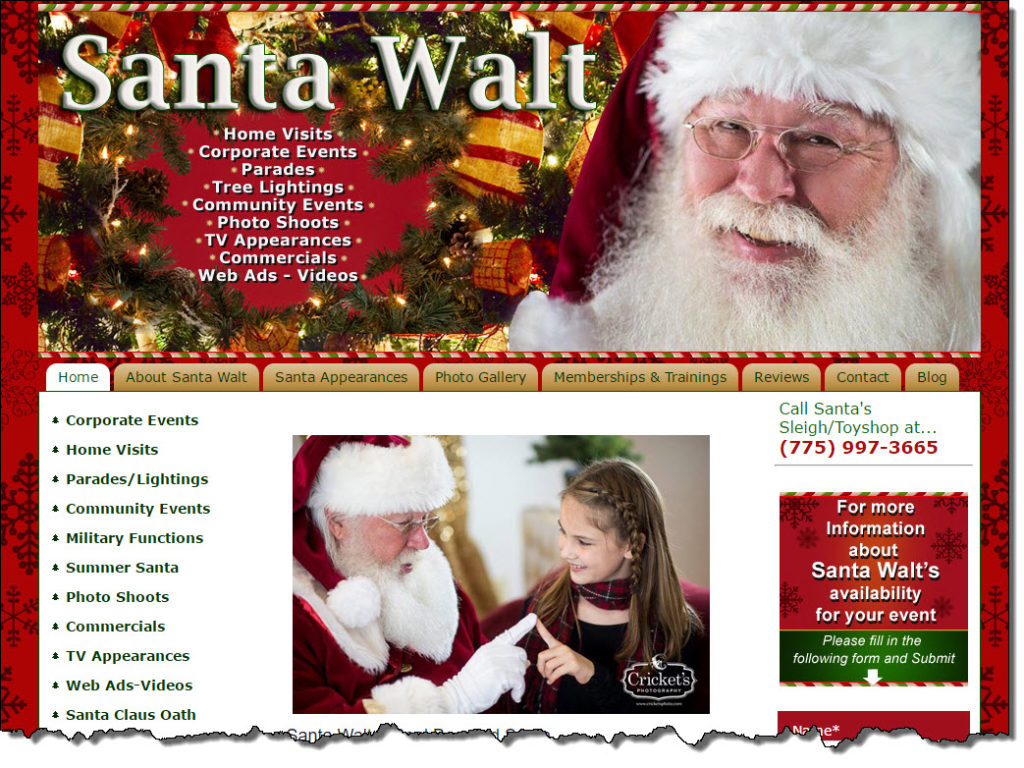 Santa Walt Website 05-24-16