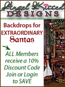 Santa Backdrops