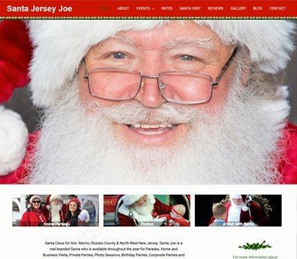 North Pole Website Designs
