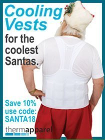 The Santa Claus Conservatory ThermApparel - Ad